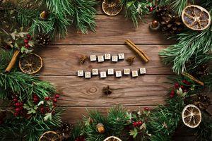 Фото бесплатно новый год, элементы, фон