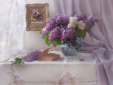 Photo free still life, picture book, background