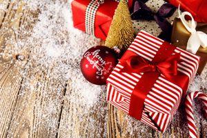 Бесплатные фото декор, подарки, шар, упаковка, сюрприз