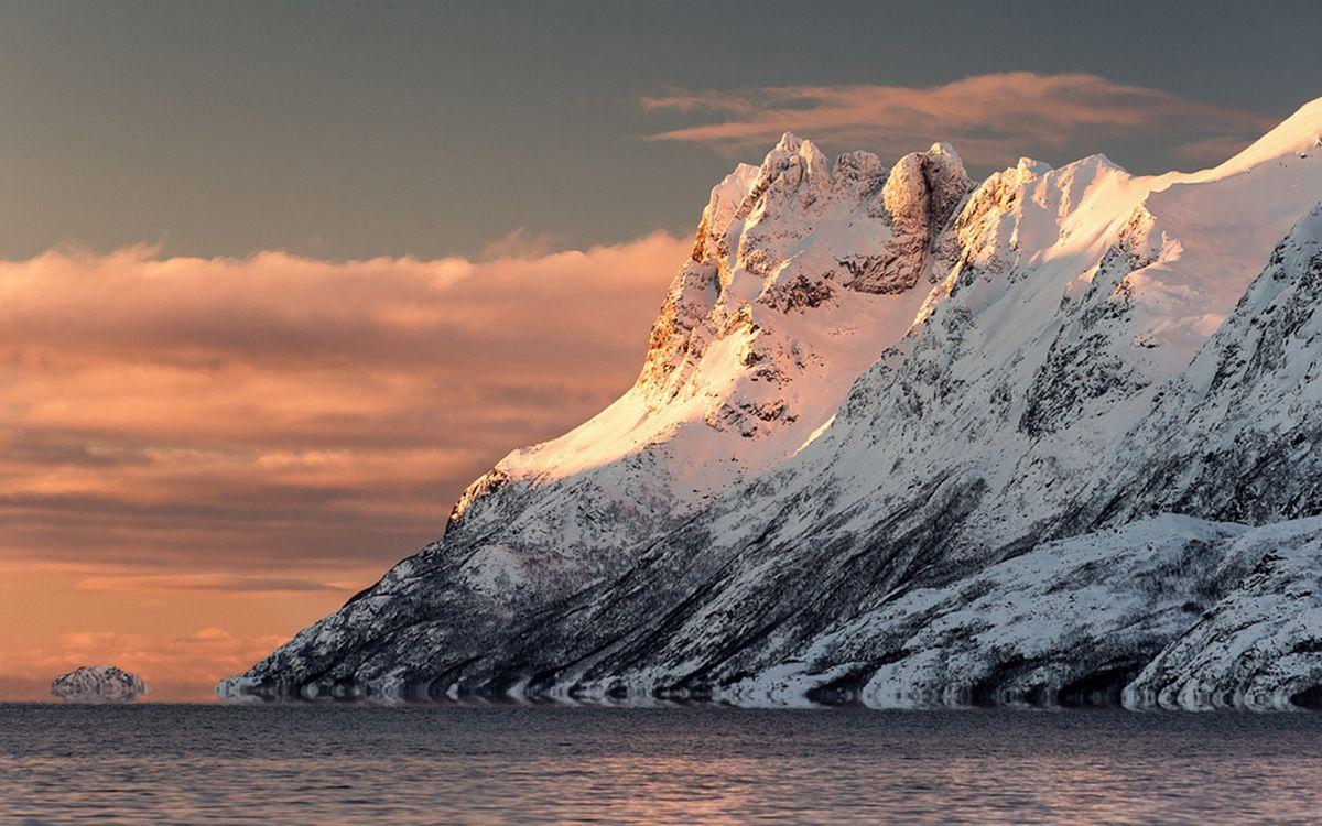Арктическая скала · бесплатное фото