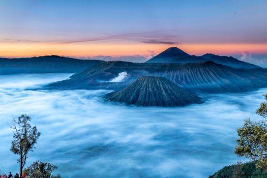 Volcanoes of Mount Bromo · free photo