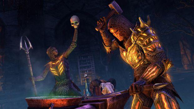 Photo free The elder Scrolls, games, blacksmith
