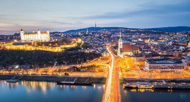 Photo free cityscape, Slovakia, Bratislava