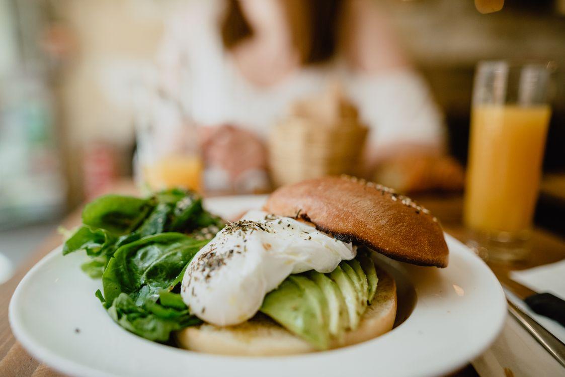 Фото бесплатно блин, ресторан, яйцо - на рабочий стол