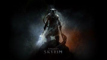 Фото бесплатно Старший Свитки V: Скайрим, меч, довакин
