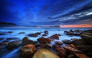 Заставки Полуостров Buddy, океан, природа