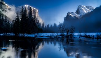 Бесплатные фото дерево,вода,природа,лес,пустыня,гора,снег