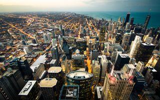 Фото бесплатно Чикаго, город, небоскребы