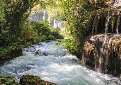 Фото бесплатно водопад, ручей, река