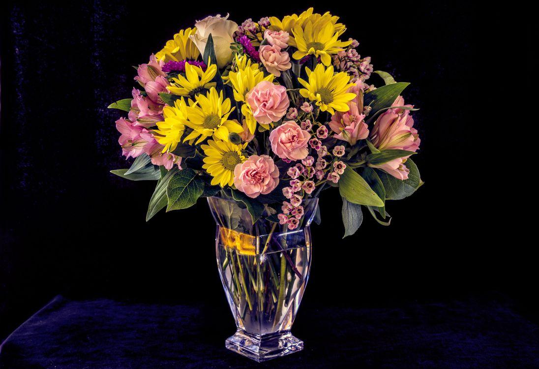 Фото бесплатно ваза, цветы, букет, цветок, цветочный, цветение, цветочная композиция, флора, цветы