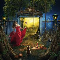 Фото бесплатно фантазия, двери в рай, девушка