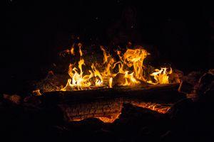 Бесплатные фото огонь,пламя,костер,камин,дрова,прохладном,жилье