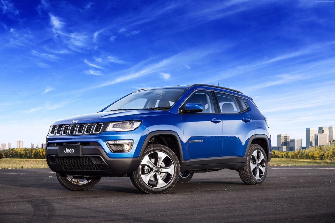 Jeep Compass синий · бесплатное фото