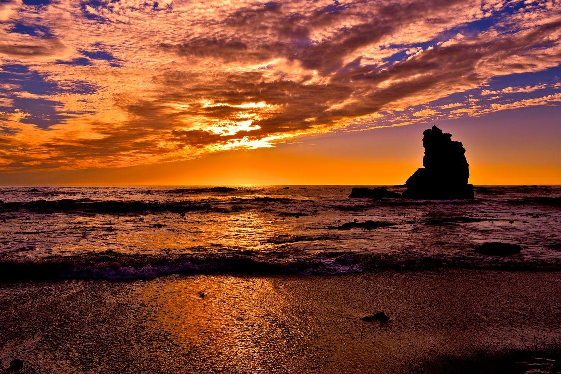 Фото бесплатно сумерки, лето, морской пейзаж - на рабочий стол