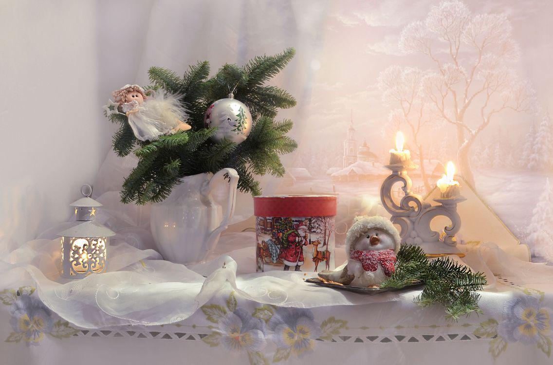 Фото бесплатно свечи, фотография, Рождество - на рабочий стол