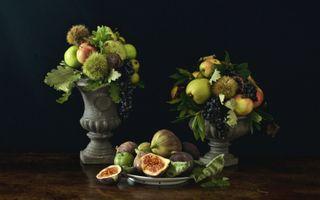 Фото бесплатно инжир, груши, фрукты