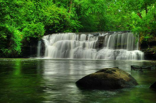 Фото бесплатно Mardis Mill Falls, водопад, скалы