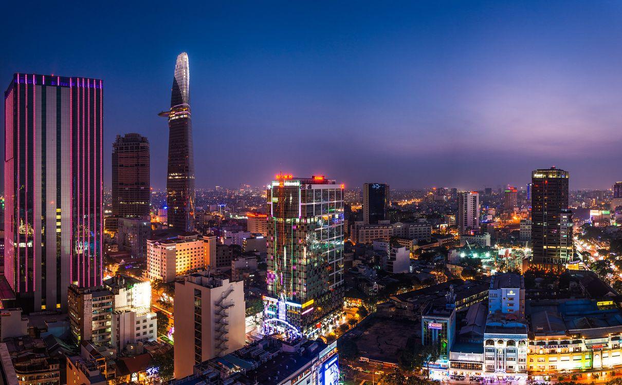 Фото бесплатно Вьетнам, Сайгон, город - на рабочий стол