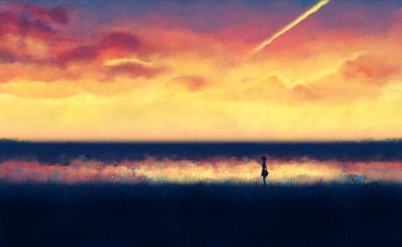 Фото бесплатно аниме, искусство, фоны