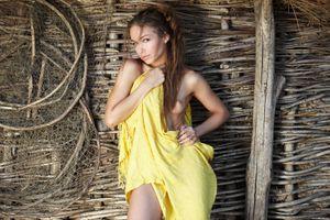 Фото бесплатно обнаженная девушка, киска, Darina B