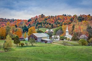 Фото бесплатно Восточный Коринф, Вермонт, осень