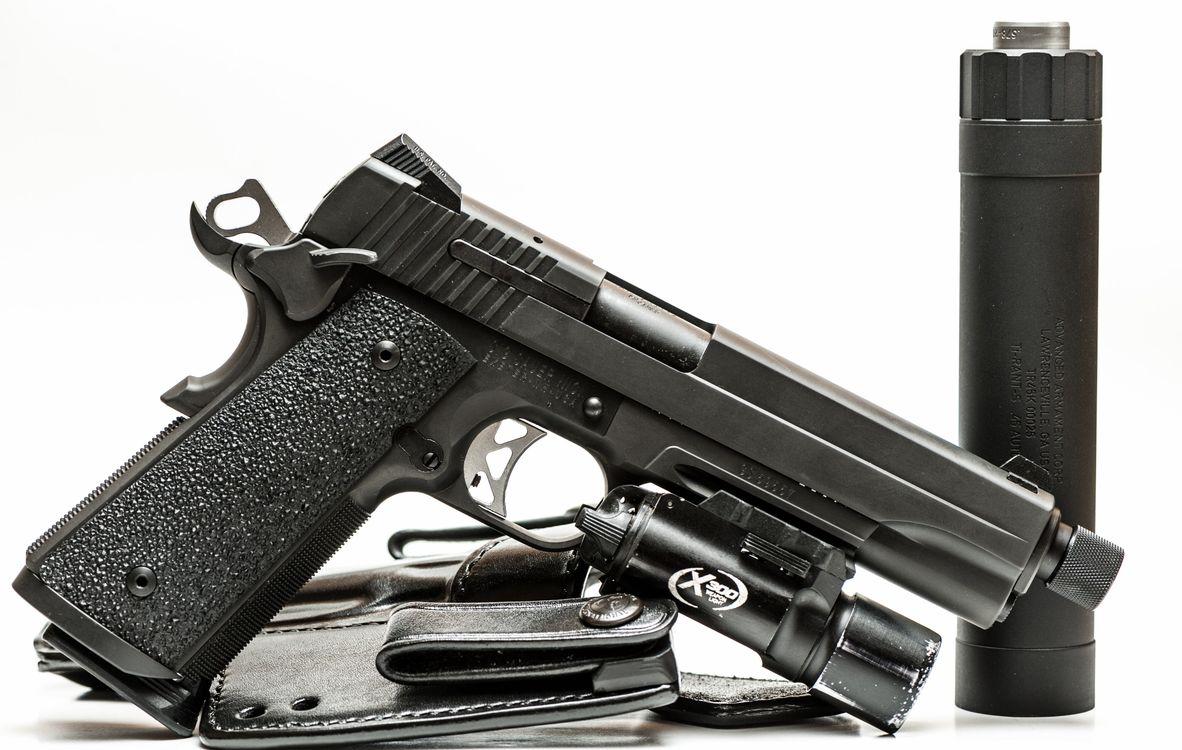 Фото бесплатно пистолет, военные, оружие - на рабочий стол