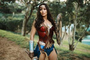 Заставки Чудо-Женщина, Супергерои, Косплей