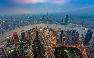 Пейзаж китайской столицы