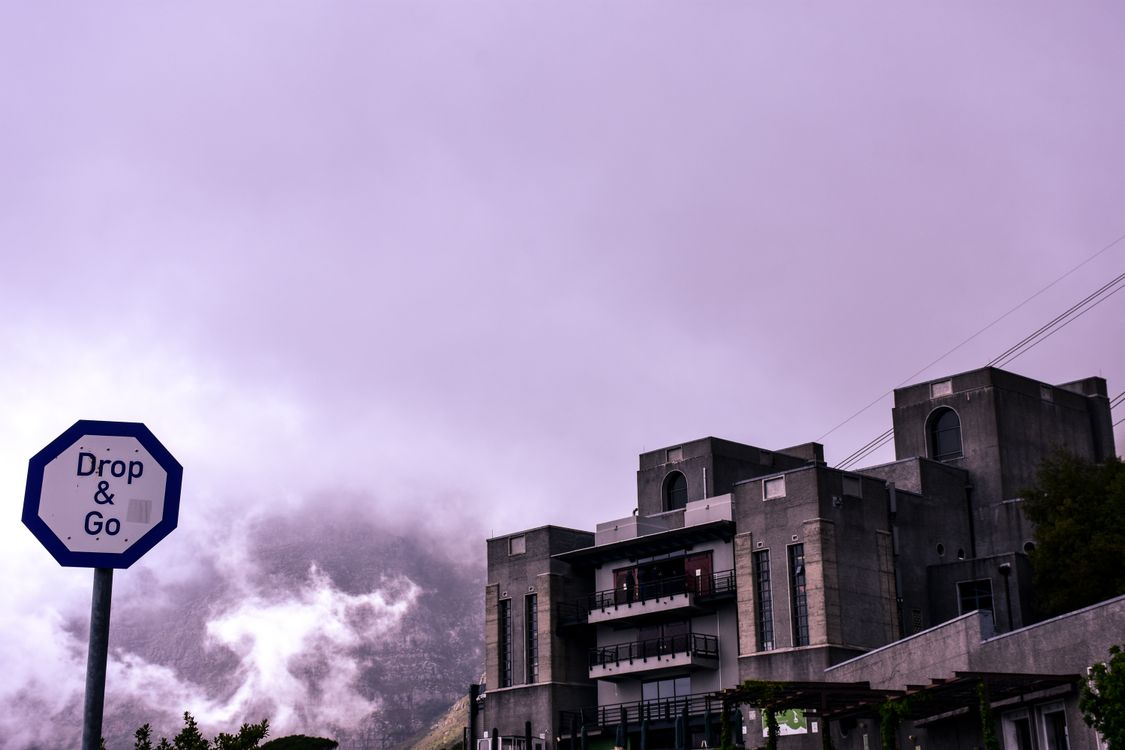 Фото бесплатно Южная Африка, подъемники, Столовая гора - на рабочий стол