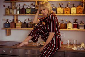 Фото бесплатно блондинка, Марго Дюма, не голая