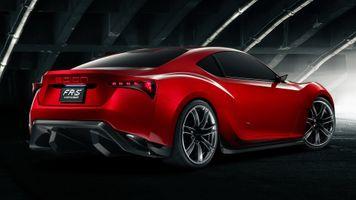 Бесплатные фото Scion FR-S,машина,автомобиль,красный автомобиль,вид сзади