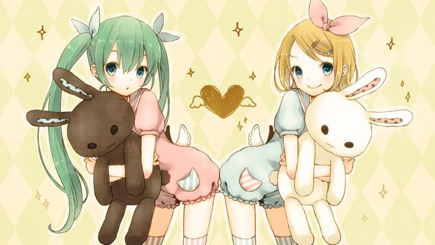 Photo free bunny, hatsune, kagamine