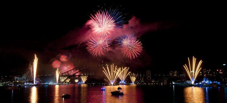 Photo free Sydney, fireworks, explosion