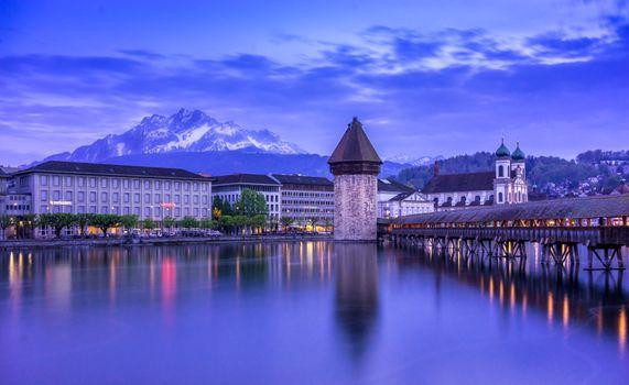 Фото бесплатно Люцерн, Швейцария, Люцерна