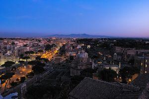 Бесплатные фото Рим,Италия,город,ночь,иллюминация