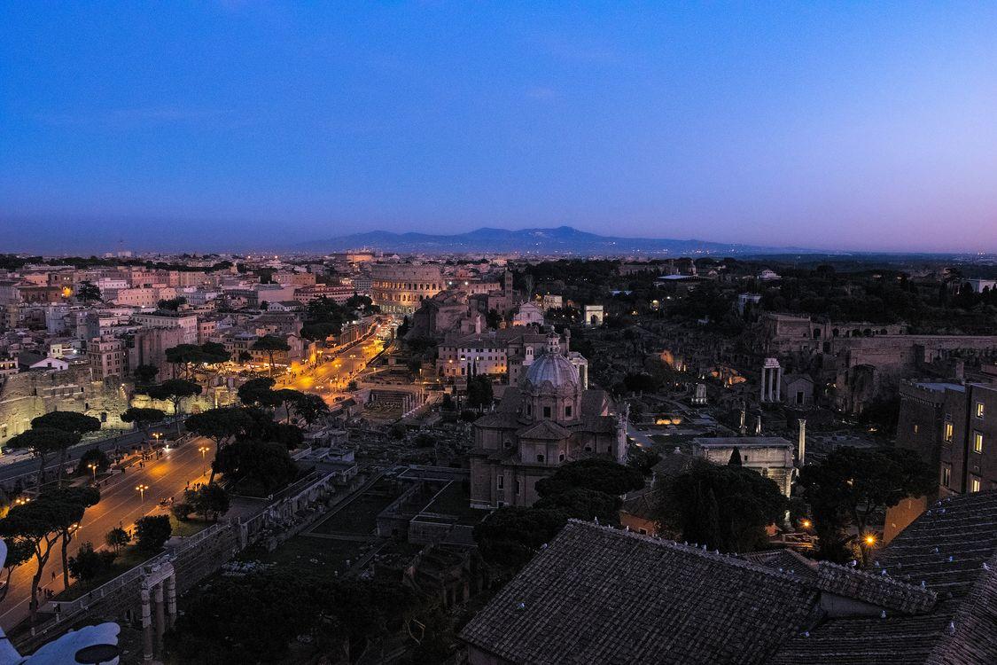 Photos for free Italy, Rome, illumination - to the desktop