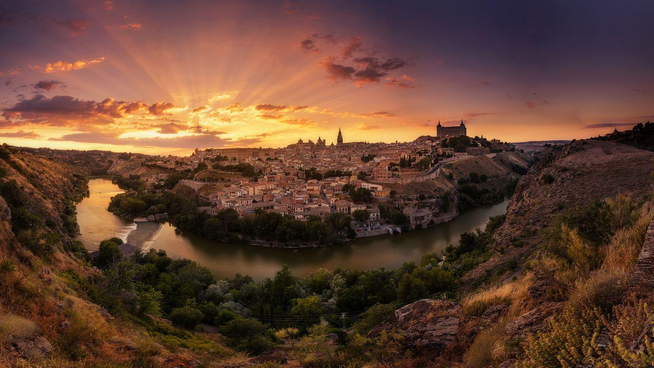 Фото бесплатно Toledo, Castile - La Mancha, Spain, город
