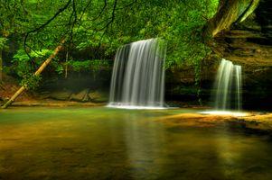 Caney Falls - скалы · бесплатное фото