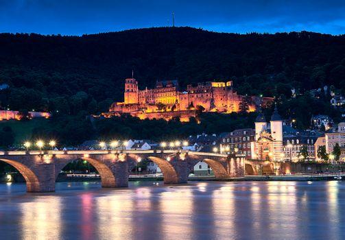 Гейдельбергский замок в Германии · бесплатное фото
