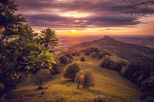 Photo free Burg Hohenzollern, Germany, landscape