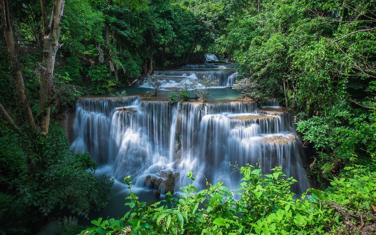 Отдохнуть в Таиланде, посмотри на водопад · бесплатное фото