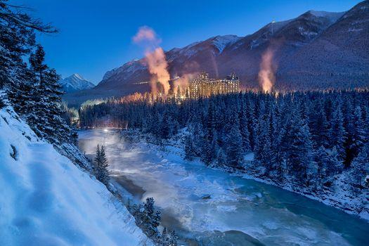 Photo free banff springs hotel, alberta, canada