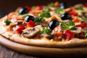 Макро-пицца · бесплатное фото