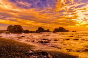 Бесплатные фото Sonoma Coast State Park,State of California,sea,summer,sunset,beach,seaside