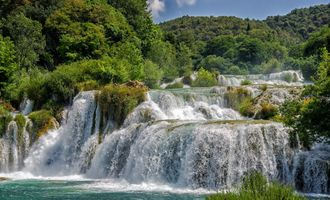 Фото бесплатно Водопады Крка, Хорватия, река