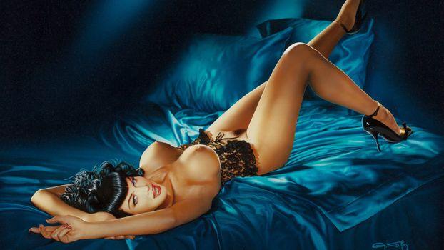 Фото бесплатно Бетти Пейдж, легенда, сексуальная красотка