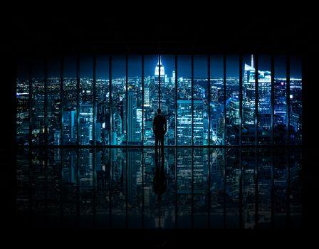 Бесплатные фото Нью-Йорк,Gotham,Бэтмен,Центр,Здание,город,империя,состояние,рыцарь,Рокфеллер,Манхеттен,США