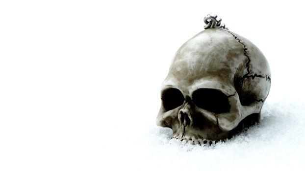 Фото бесплатно темный, готический, череп