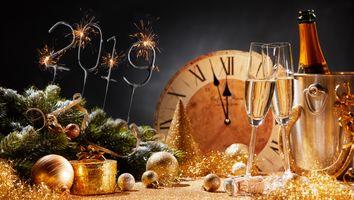 Фото бесплатно Рождественский стиль, подарки, рождество