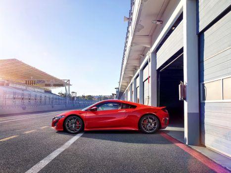 Photo free Acura NSX, cars, 2017 cars
